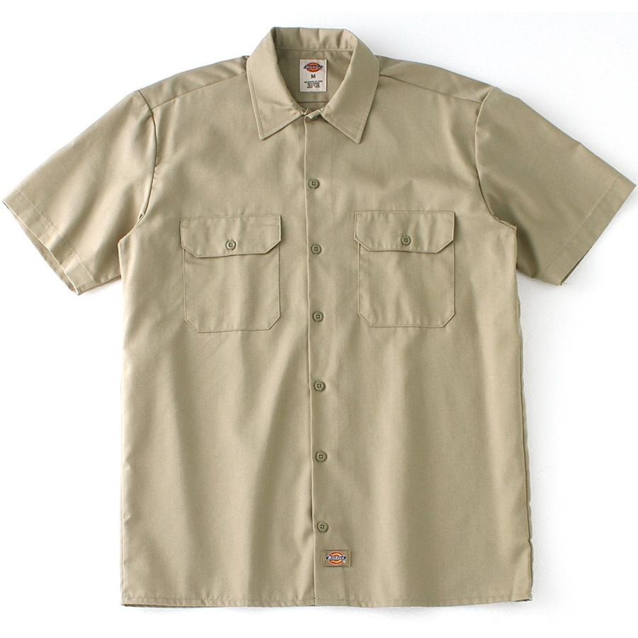 ディッキーズ 半袖 シャツ ワークシャツ 1574 メンズ|大きいサイズ USAモデル Dickies|半袖シャツ カジュアルシャツ 作業着 作業服 S M L LL 3L|f-box|14