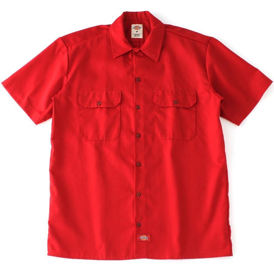ディッキーズ 半袖 シャツ ワークシャツ 1574 メンズ|大きいサイズ USAモデル Dickies|半袖シャツ カジュアルシャツ 作業着 作業服 S M L LL 3L|f-box|15