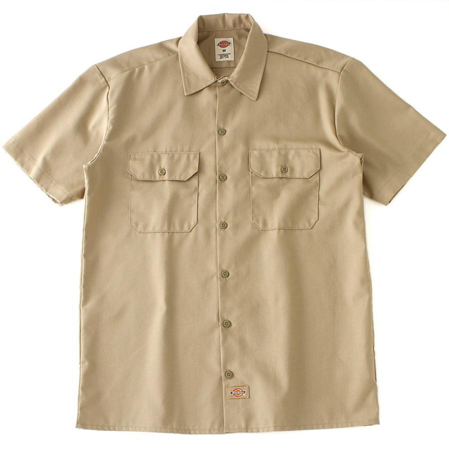 ディッキーズ 半袖 シャツ ワークシャツ 1574 メンズ|大きいサイズ USAモデル Dickies|半袖シャツ カジュアルシャツ 作業着 作業服 S M L LL 3L|f-box|18