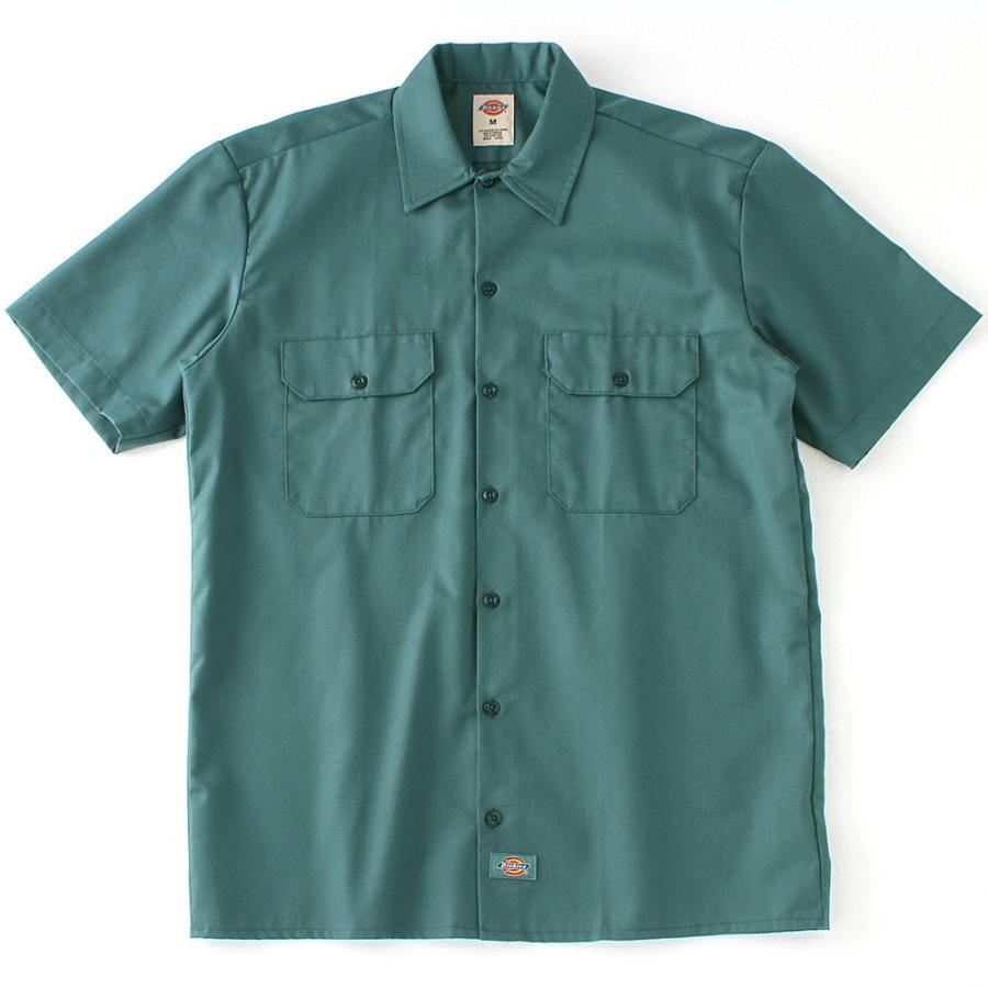 ディッキーズ 半袖 シャツ ワークシャツ 1574 メンズ|大きいサイズ USAモデル Dickies|半袖シャツ カジュアルシャツ 作業着 作業服 S M L LL 3L|f-box|21