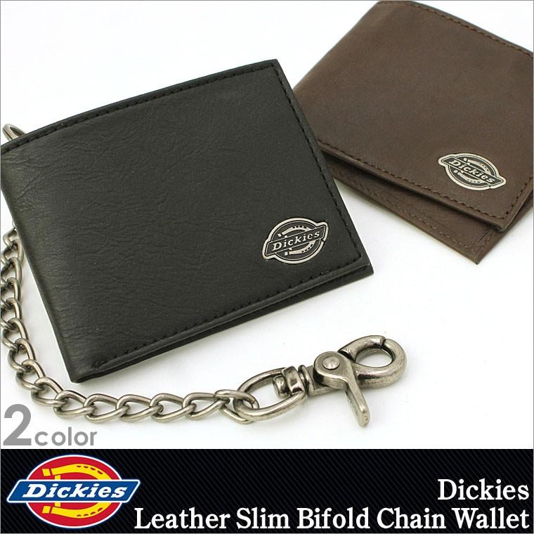 cba8b1b6bbdd ディッキーズ Dickies 財布 財布 メンズ 二つ折り チェーン ウォレット ...