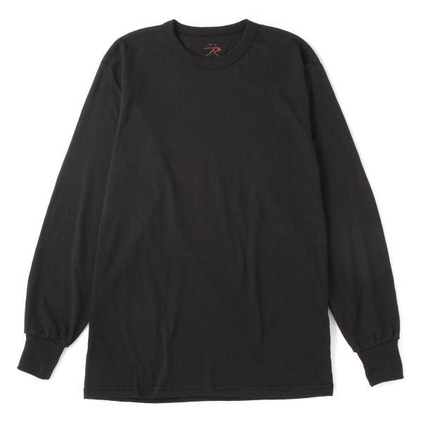 ロスコ Tシャツ 長袖 クルーネック 無地 メンズ 大きいサイズ USAモデル ブランド ROTHCO ロンT 長袖Tシャツ アメカジ ミリタリー f-box 15