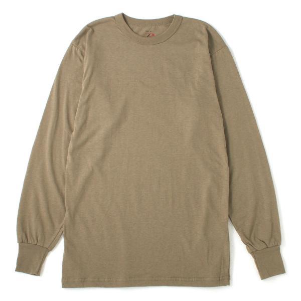 ロスコ Tシャツ 長袖 クルーネック 無地 メンズ 大きいサイズ USAモデル ブランド ROTHCO ロンT 長袖Tシャツ アメカジ ミリタリー f-box 17