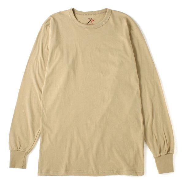 ロスコ Tシャツ 長袖 クルーネック 無地 メンズ 大きいサイズ USAモデル ブランド ROTHCO ロンT 長袖Tシャツ アメカジ ミリタリー f-box 18