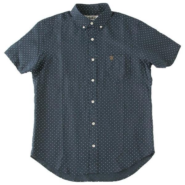 シャツ 半袖 メンズ ボタンダウン ポケット ドット柄 大きいサイズ 日本規格|ブランド EAGLE THE STANDARD イーグル|半袖シャツ カジュアル 2019 春夏 新作|f-box|17