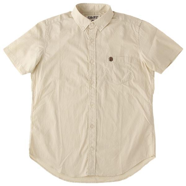 シャツ 半袖 メンズ ボタンダウン ポケット ドット柄 大きいサイズ 日本規格|ブランド EAGLE THE STANDARD イーグル|半袖シャツ カジュアル 2019 春夏 新作|f-box|18