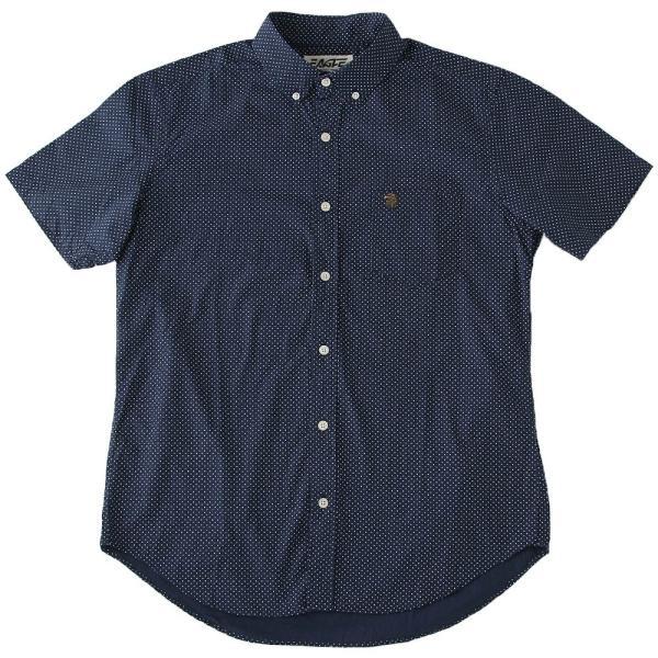 シャツ 半袖 メンズ ボタンダウン ポケット ドット柄 大きいサイズ 日本規格|ブランド EAGLE THE STANDARD イーグル|半袖シャツ カジュアル 2019 春夏 新作|f-box|22