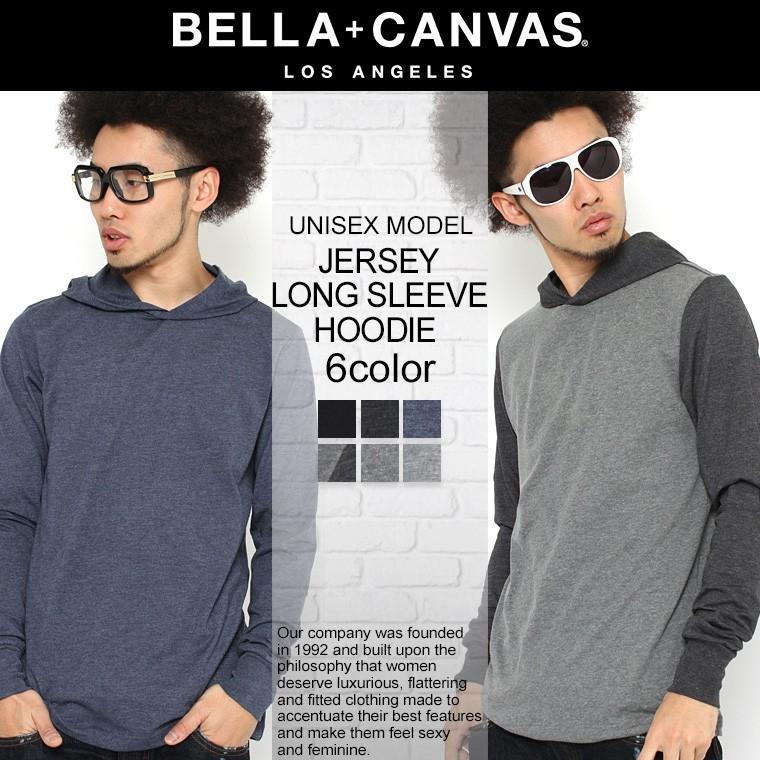 Bella + Canvas ベラ・キャンバス パーカー