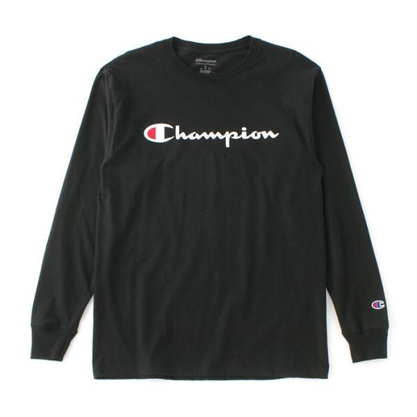 チャンピオン Tシャツ 長袖 メンズ 大きいサイズ USAモデル|ブランド ロンT 長袖Tシャツ ロゴ アメカジ|f-box|17