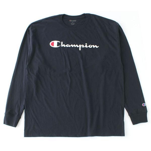 チャンピオン Tシャツ 長袖 メンズ 大きいサイズ USAモデル|ブランド ロンT 長袖Tシャツ ロゴ アメカジ|f-box|18