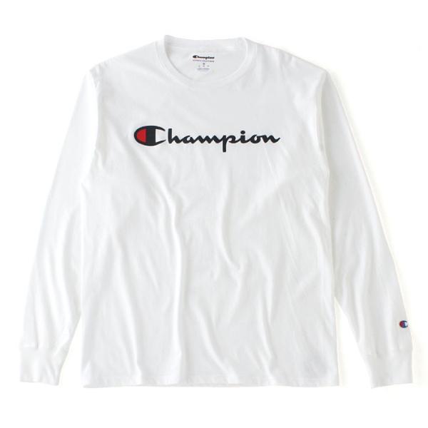 チャンピオン Tシャツ 長袖 メンズ 大きいサイズ USAモデル|ブランド ロンT 長袖Tシャツ ロゴ アメカジ|f-box|19