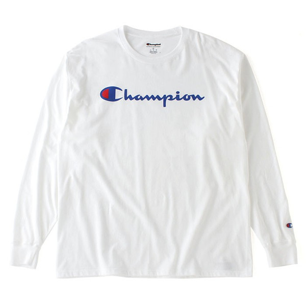 チャンピオン Tシャツ 長袖 メンズ 大きいサイズ USAモデル|ブランド ロンT 長袖Tシャツ ロゴ アメカジ|f-box|20