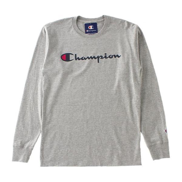 チャンピオン Tシャツ 長袖 メンズ 大きいサイズ USAモデル|ブランド ロンT 長袖Tシャツ ロゴ アメカジ|f-box|21