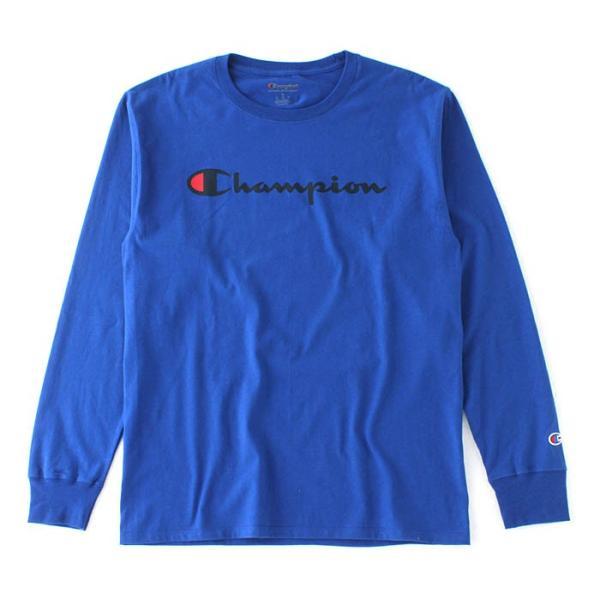チャンピオン Tシャツ 長袖 メンズ 大きいサイズ USAモデル|ブランド ロンT 長袖Tシャツ ロゴ アメカジ|f-box|26