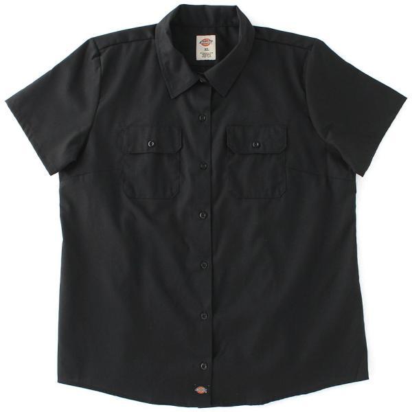 [レディース] ディッキーズ シャツ ワークシャツ 半袖 ストレッチ 大きいサイズ FS574F|フレックス ブランド アメカジ カジュアル|f-box|15