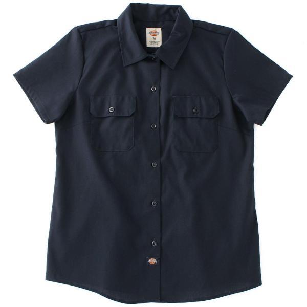 [レディース] ディッキーズ シャツ ワークシャツ 半袖 ストレッチ 大きいサイズ FS574F|フレックス ブランド アメカジ カジュアル|f-box|16