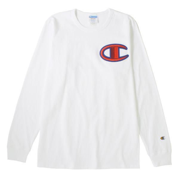 チャンピオン Tシャツ 長袖 クルーネック メンズ レディース 大きいサイズ GT47 Y07981|ブランド ロンT アメカジ USAモデル|f-box|14