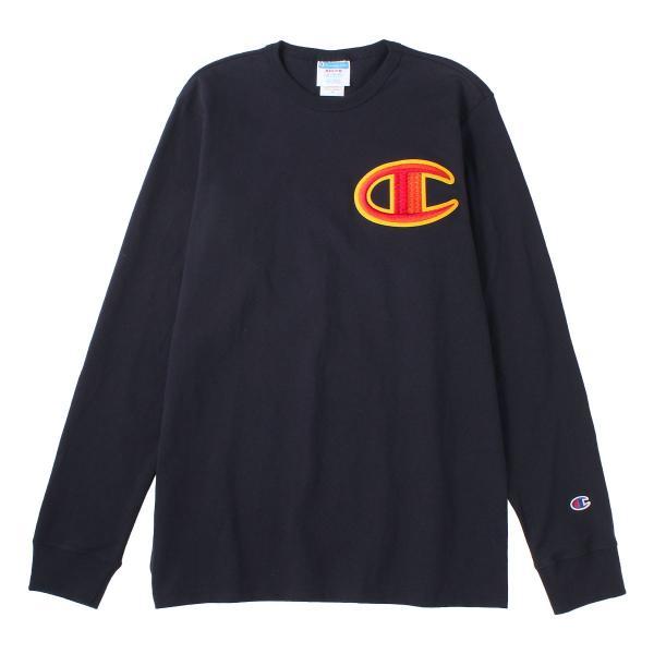 チャンピオン Tシャツ 長袖 クルーネック メンズ レディース 大きいサイズ GT47 Y07981|ブランド ロンT アメカジ USAモデル|f-box|15