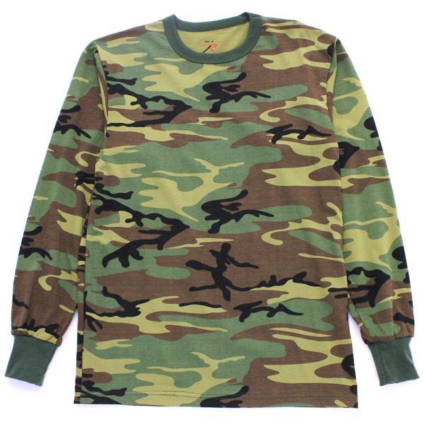 ロスコ Tシャツ 長袖 メンズ 大きいサイズ USAモデル 米軍|ブランド ROTHCO|ロンT 長袖Tシャツ ミリタリー 迷彩|f-box|07