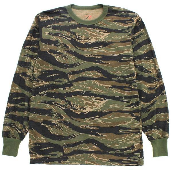 ロスコ Tシャツ 長袖 メンズ 大きいサイズ USAモデル 米軍|ブランド ROTHCO|ロンT 長袖Tシャツ ミリタリー 迷彩|f-box|08