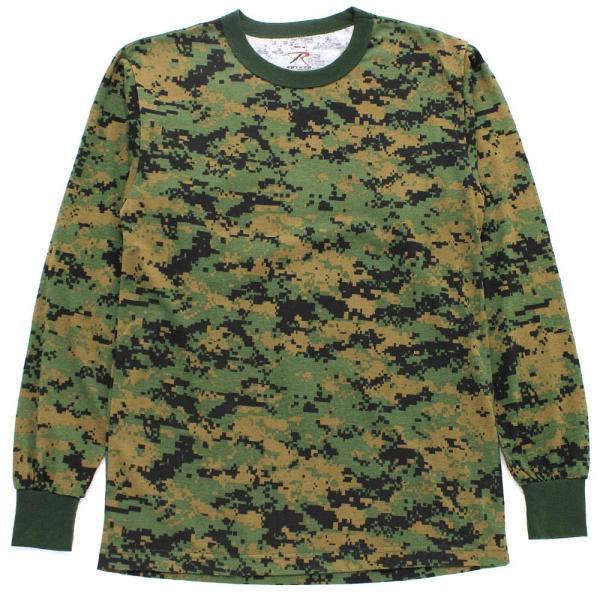 ロスコ Tシャツ 長袖 メンズ 大きいサイズ USAモデル 米軍|ブランド ROTHCO|ロンT 長袖Tシャツ ミリタリー 迷彩|f-box|09