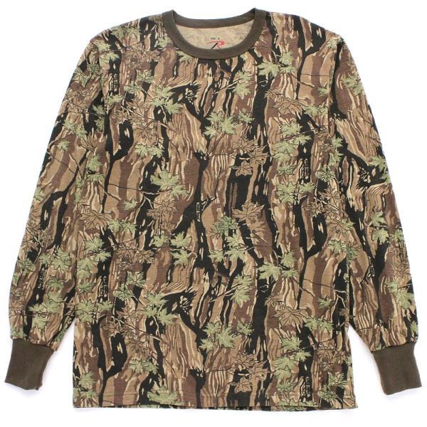 ロスコ Tシャツ 長袖 メンズ 大きいサイズ USAモデル 米軍|ブランド ROTHCO|ロンT 長袖Tシャツ ミリタリー 迷彩|f-box|10
