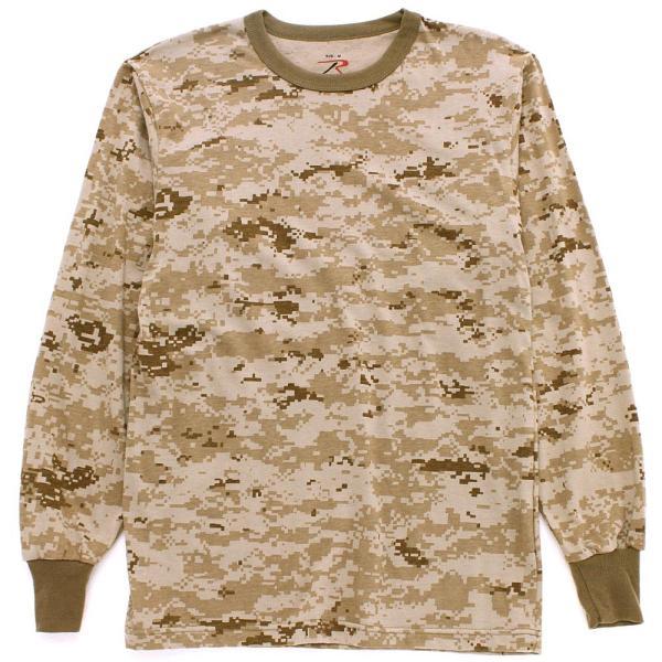 ロスコ Tシャツ 長袖 メンズ 大きいサイズ USAモデル 米軍|ブランド ROTHCO|ロンT 長袖Tシャツ ミリタリー 迷彩|f-box|11