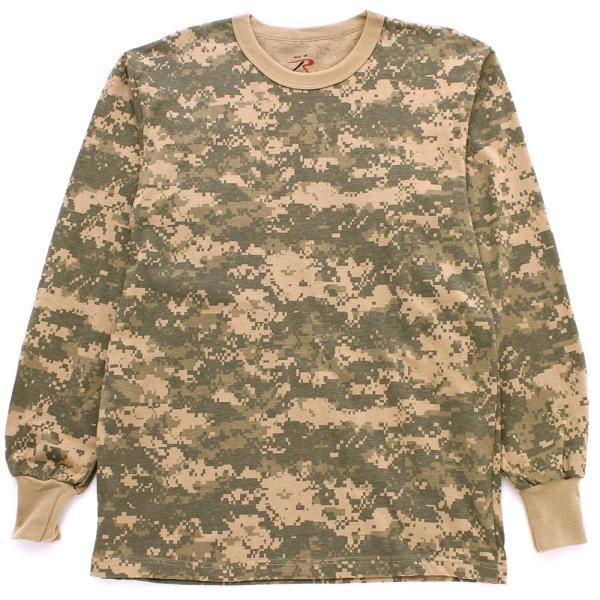 ロスコ Tシャツ 長袖 メンズ 大きいサイズ USAモデル 米軍|ブランド ROTHCO|ロンT 長袖Tシャツ ミリタリー 迷彩|f-box|12