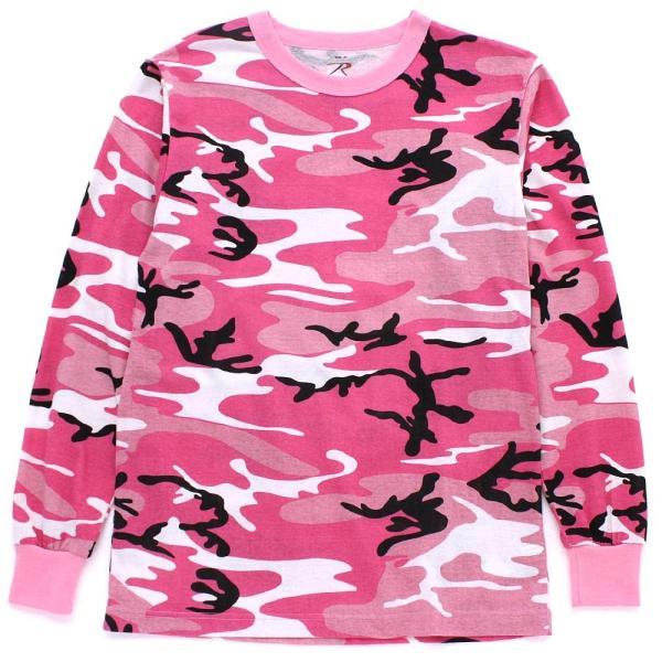 ロスコ Tシャツ 長袖 メンズ 大きいサイズ USAモデル 米軍|ブランド ROTHCO|ロンT 長袖Tシャツ ミリタリー 迷彩|f-box|13