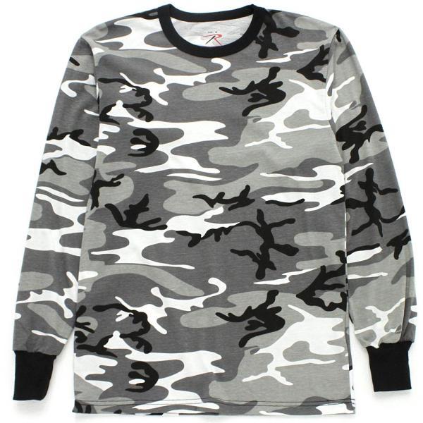 ロスコ Tシャツ 長袖 メンズ 大きいサイズ USAモデル 米軍|ブランド ROTHCO|ロンT 長袖Tシャツ ミリタリー 迷彩|f-box|15