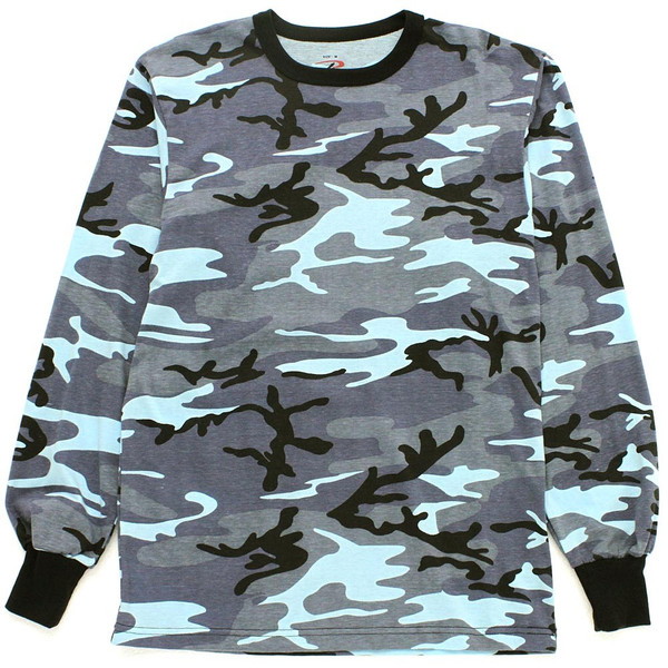 ロスコ Tシャツ 長袖 メンズ 大きいサイズ USAモデル 米軍|ブランド ROTHCO|ロンT 長袖Tシャツ ミリタリー 迷彩|f-box|16