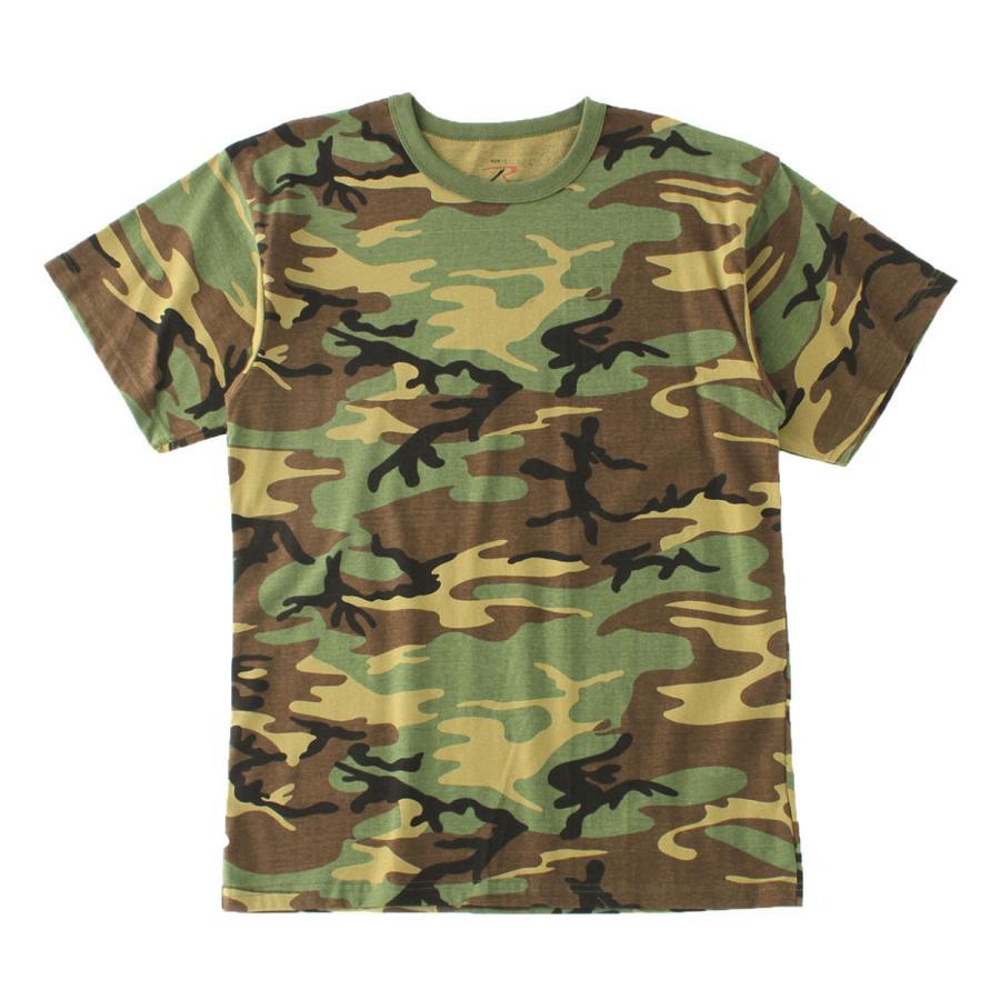 ロスコ Tシャツ 半袖 迷彩 メンズ レディース 大きいサイズ USAモデル 米軍 ブランド ROTHCO 半袖Tシャツ ミリタリー f-box 22