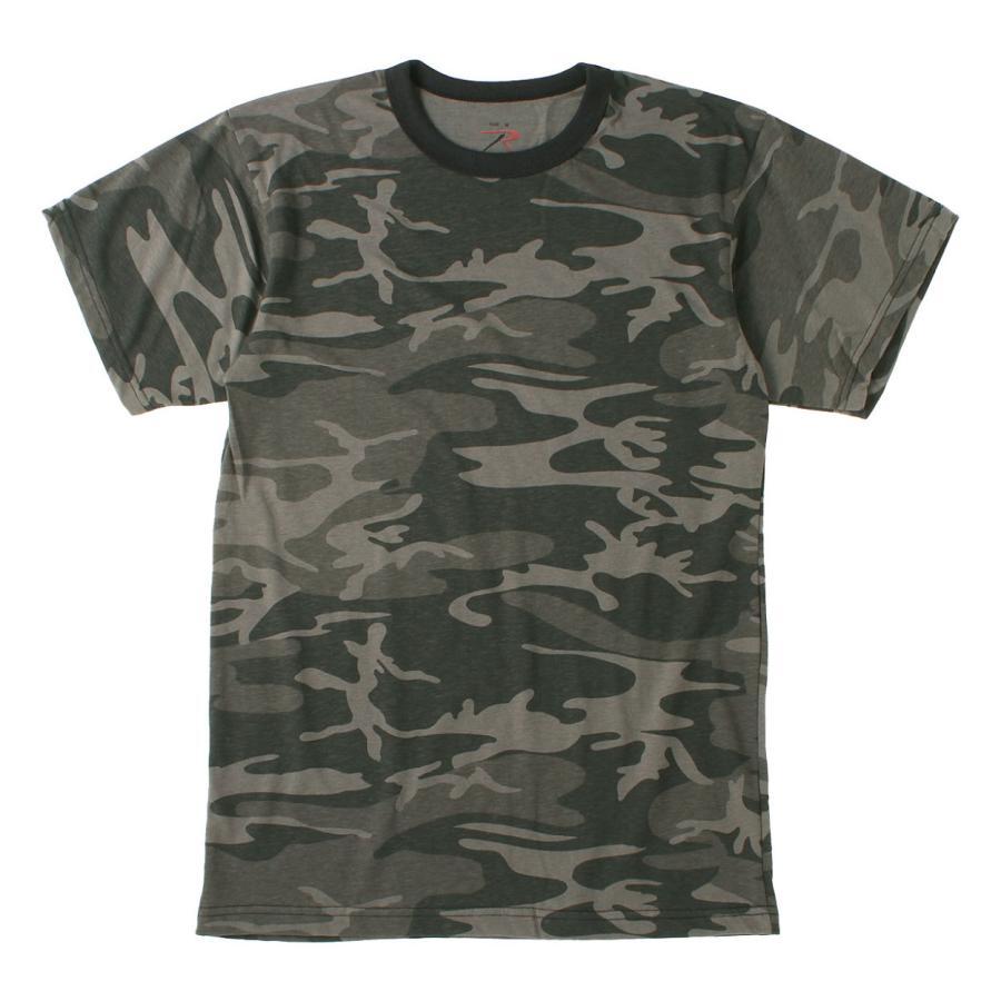 ロスコ Tシャツ 半袖 迷彩 メンズ レディース 大きいサイズ USAモデル 米軍 ブランド ROTHCO 半袖Tシャツ ミリタリー f-box 23