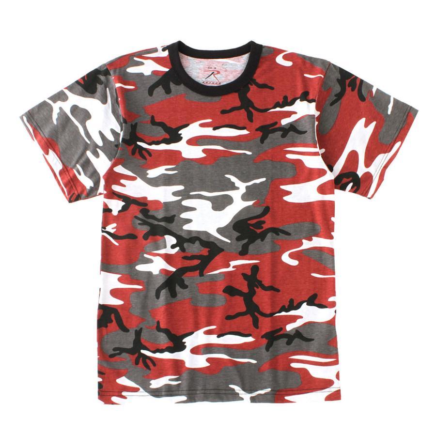 ロスコ Tシャツ 半袖 迷彩 メンズ レディース 大きいサイズ USAモデル 米軍 ブランド ROTHCO 半袖Tシャツ ミリタリー f-box 25