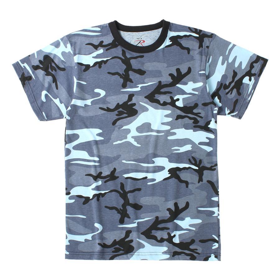 ロスコ Tシャツ 半袖 迷彩 メンズ レディース 大きいサイズ USAモデル 米軍 ブランド ROTHCO 半袖Tシャツ ミリタリー f-box 29
