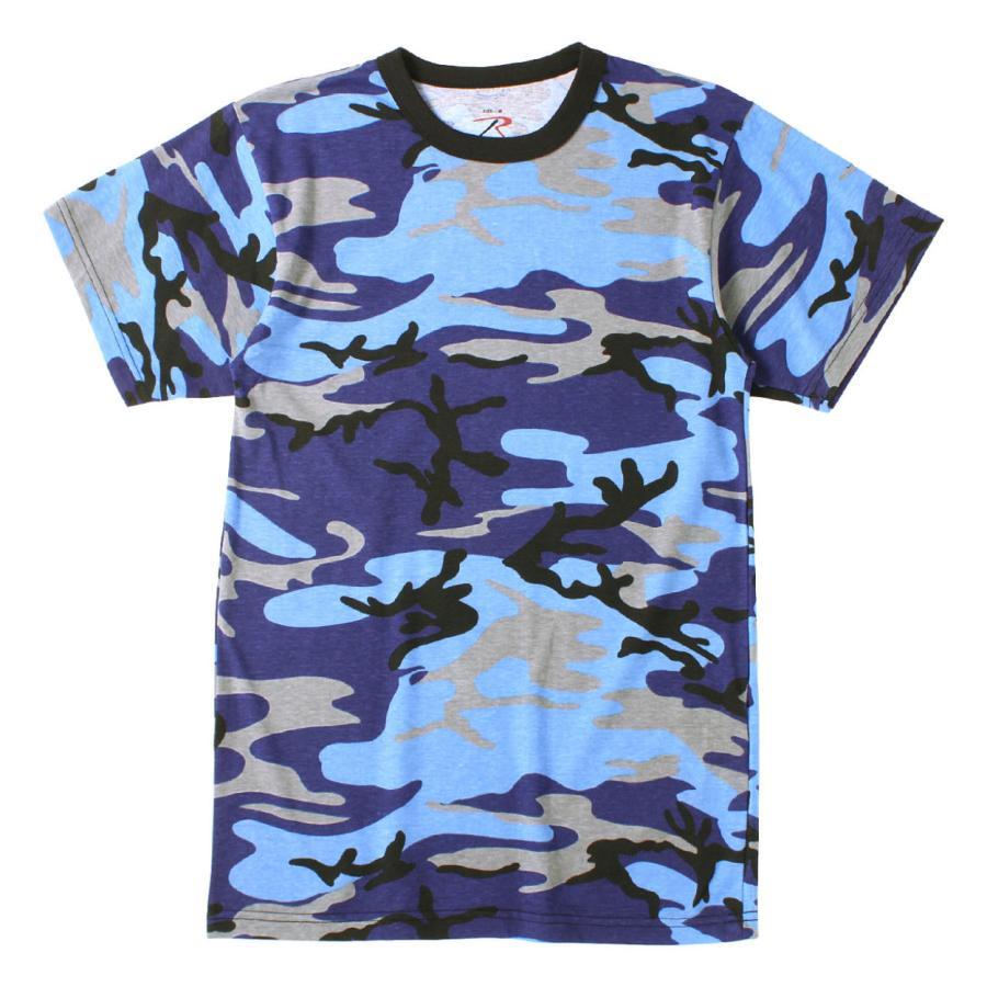 ロスコ Tシャツ 半袖 迷彩 メンズ レディース 大きいサイズ USAモデル 米軍 ブランド ROTHCO 半袖Tシャツ ミリタリー f-box 30
