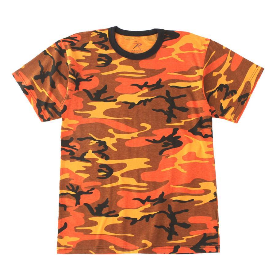 ロスコ Tシャツ 半袖 迷彩 メンズ レディース 大きいサイズ USAモデル 米軍 ブランド ROTHCO 半袖Tシャツ ミリタリー f-box 32