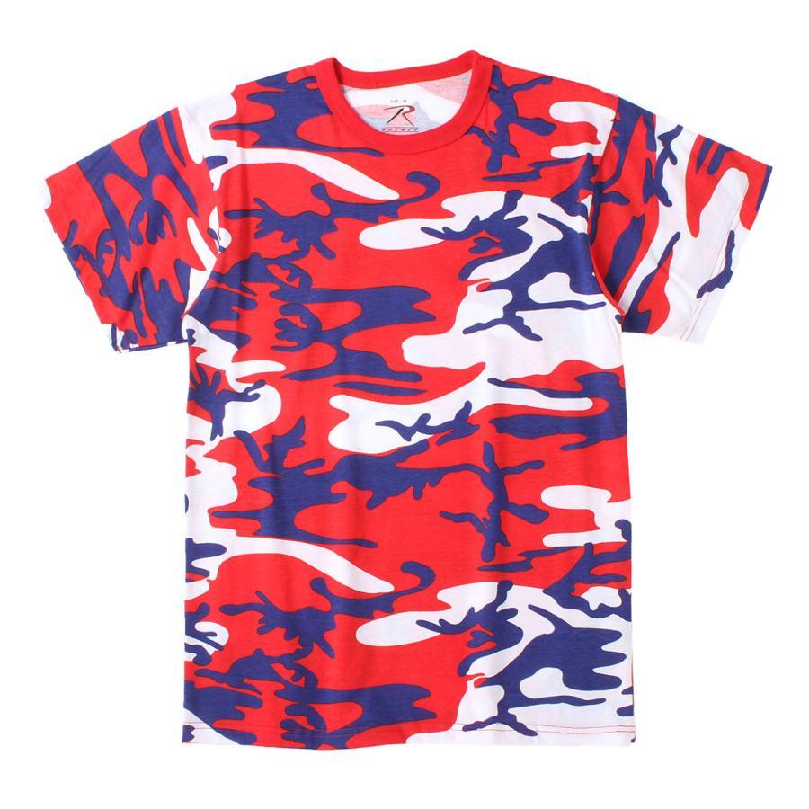 ロスコ Tシャツ 半袖 迷彩 メンズ レディース 大きいサイズ USAモデル 米軍 ブランド ROTHCO 半袖Tシャツ ミリタリー f-box 34
