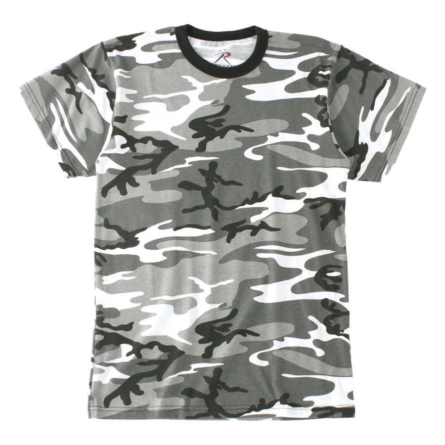 ロスコ Tシャツ 半袖 迷彩 メンズ レディース 大きいサイズ USAモデル 米軍 ブランド ROTHCO 半袖Tシャツ ミリタリー f-box 35