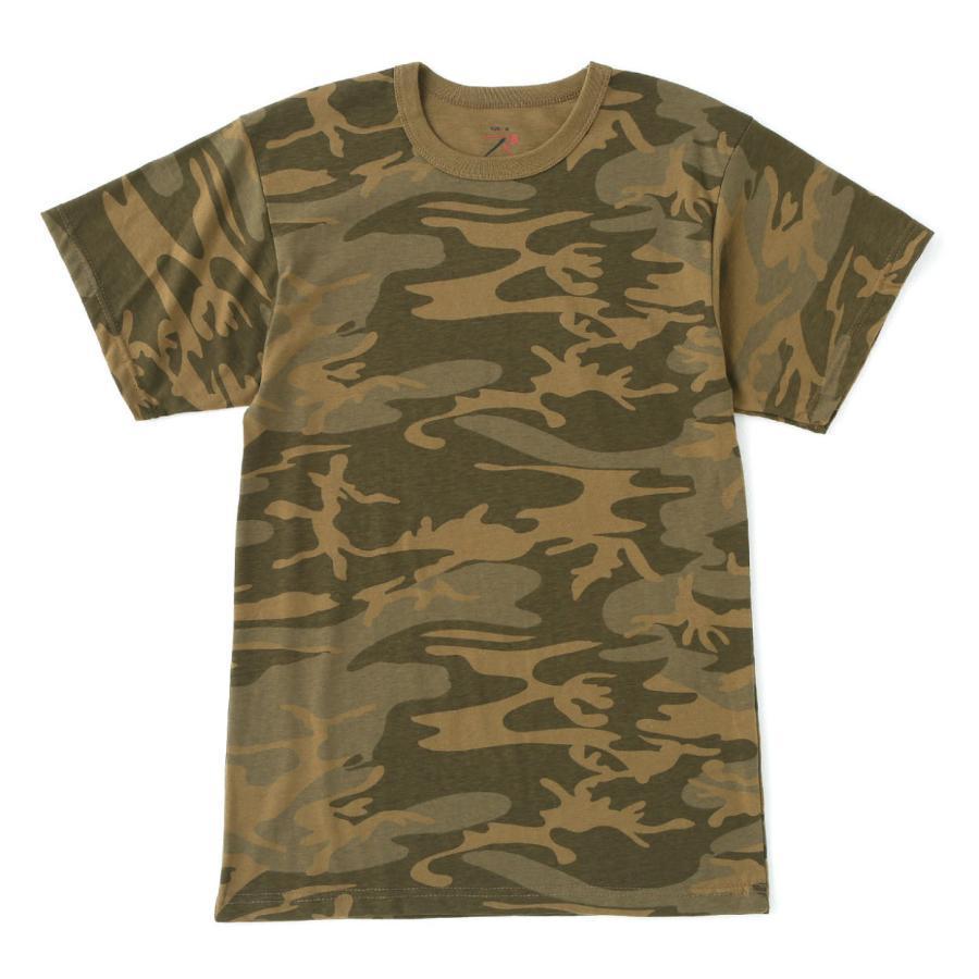 ロスコ Tシャツ 半袖 迷彩 メンズ レディース 大きいサイズ USAモデル 米軍 ブランド ROTHCO 半袖Tシャツ ミリタリー f-box 36