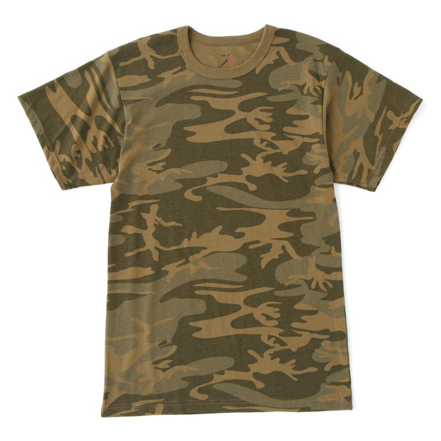 ロスコ Tシャツ 半袖 迷彩 メンズ レディース 大きいサイズ USAモデル 米軍 ブランド ROTHCO 半袖Tシャツ ミリタリー f-box 41