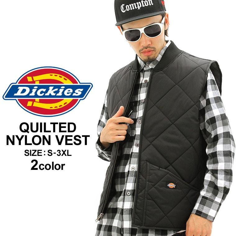 ディッキーズ/Dickies/ディッキーズ/ジャケット/アウター/メンズ/大きいサイズ/キルティングジャケット/キルティング生地/無地/アメカジ/防寒