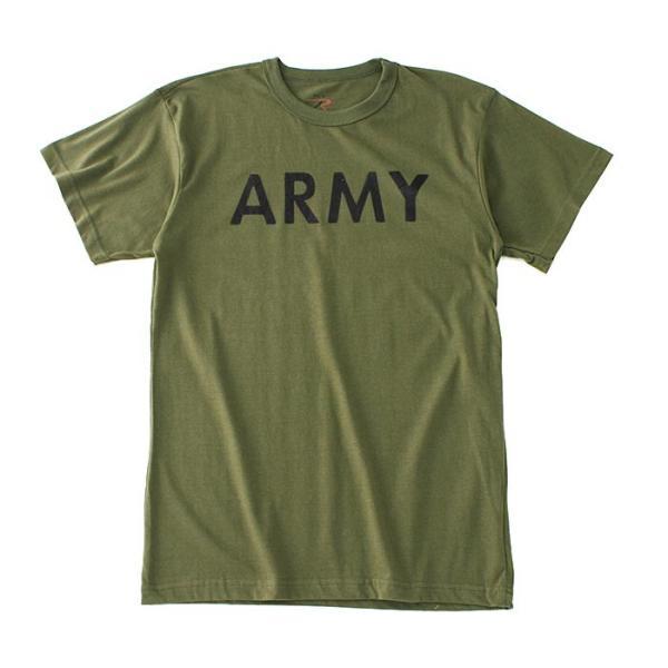ロスコ Tシャツ 半袖 メンズ 大きいサイズ USAモデル 米軍|ブランド ROTHCO|半袖Tシャツ ミリタリー ロゴ プリント|f-box|24