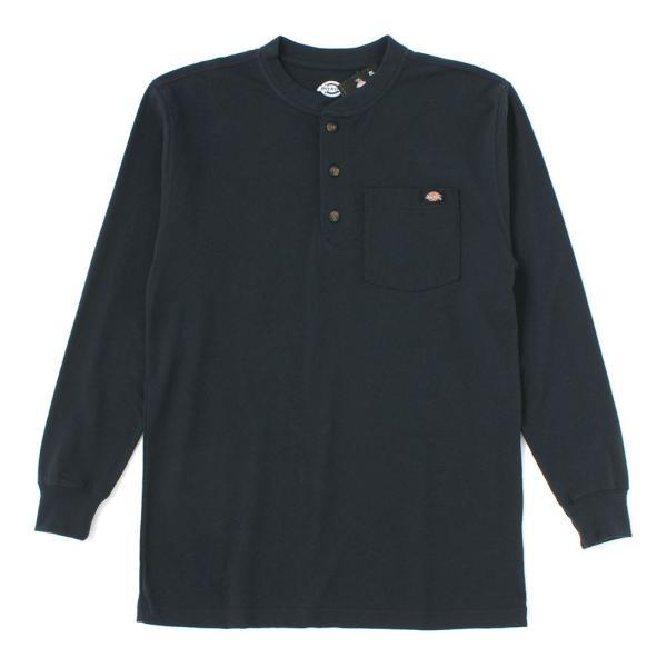ディッキーズ Tシャツ 長袖 ヘンリーネック WL451 無地 メンズ|大きいサイズ USAモデル Dickies|f-box|15