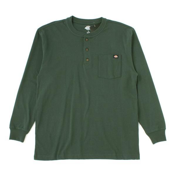 ディッキーズ Tシャツ 長袖 ヘンリーネック WL451 無地 メンズ|大きいサイズ USAモデル Dickies|f-box|16