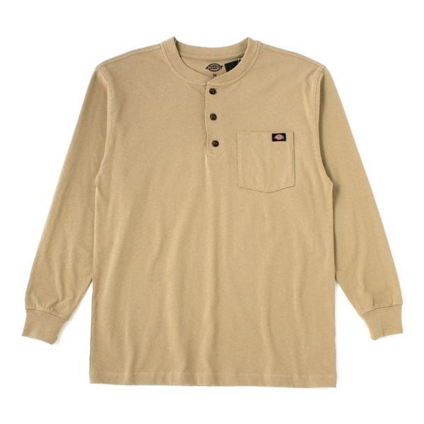 ディッキーズ Tシャツ 長袖 ヘンリーネック WL451 無地 メンズ|大きいサイズ USAモデル Dickies|f-box|18