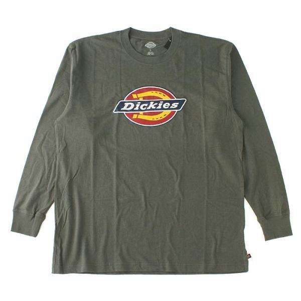 ディッキーズ Tシャツ 長袖 メンズ|大きいサイズ USAモデル Dickies|ロンT 長袖Tシャツ ロゴT|f-box|15