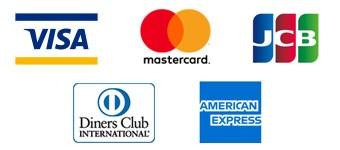 各種クレジットカード・ロゴ