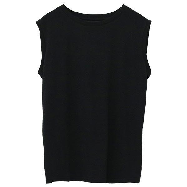 ノースリーブ Tシャツ レディース 春 夏 ボーダー ロゴ 白 ホワイト カットソー トップス 送料無料|f-odekake|23