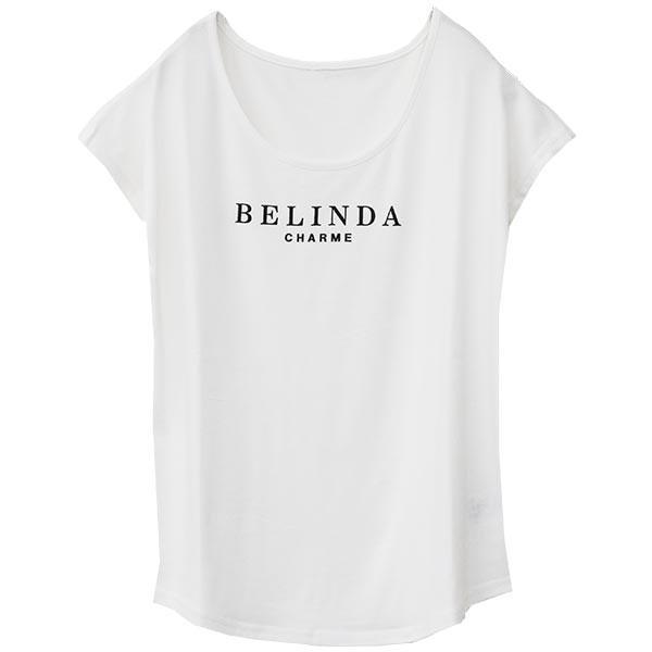 Tシャツ レディース Uネック シンプル ベーシック 美ライン 半袖 大きいサイズ 無地 白 黒 ボーダー ロゴ ホワイト とろみ カットソー 送料無料|f-odekake|32